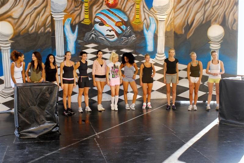 Miss Nederland training (2)