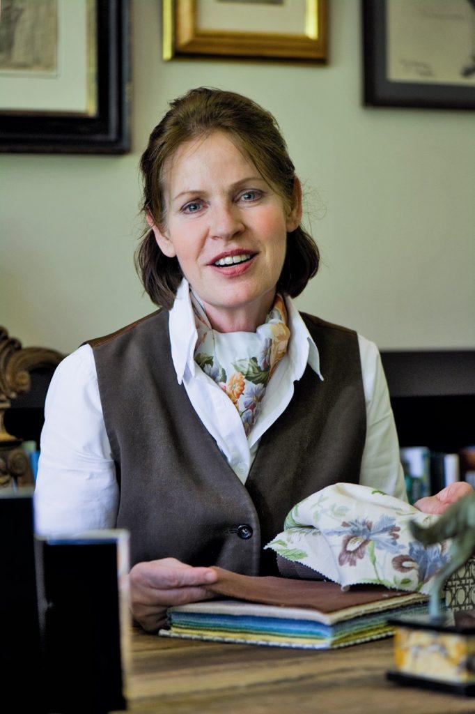 Beatrix Kleuver thuis aan het werk