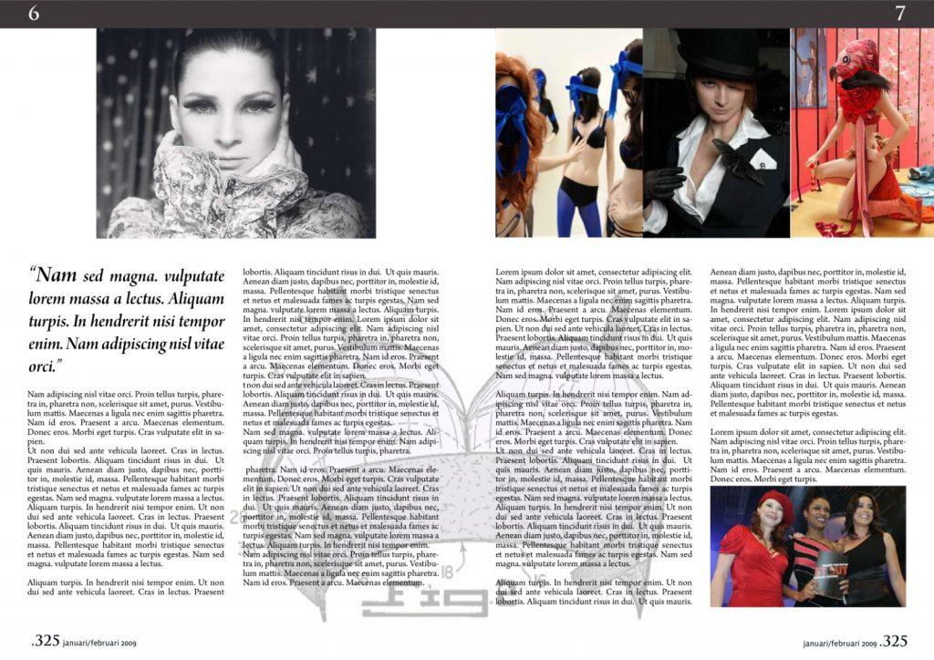 ontwerpen van een magazine