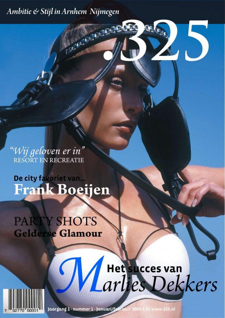 ontwerpen van een magazine cover