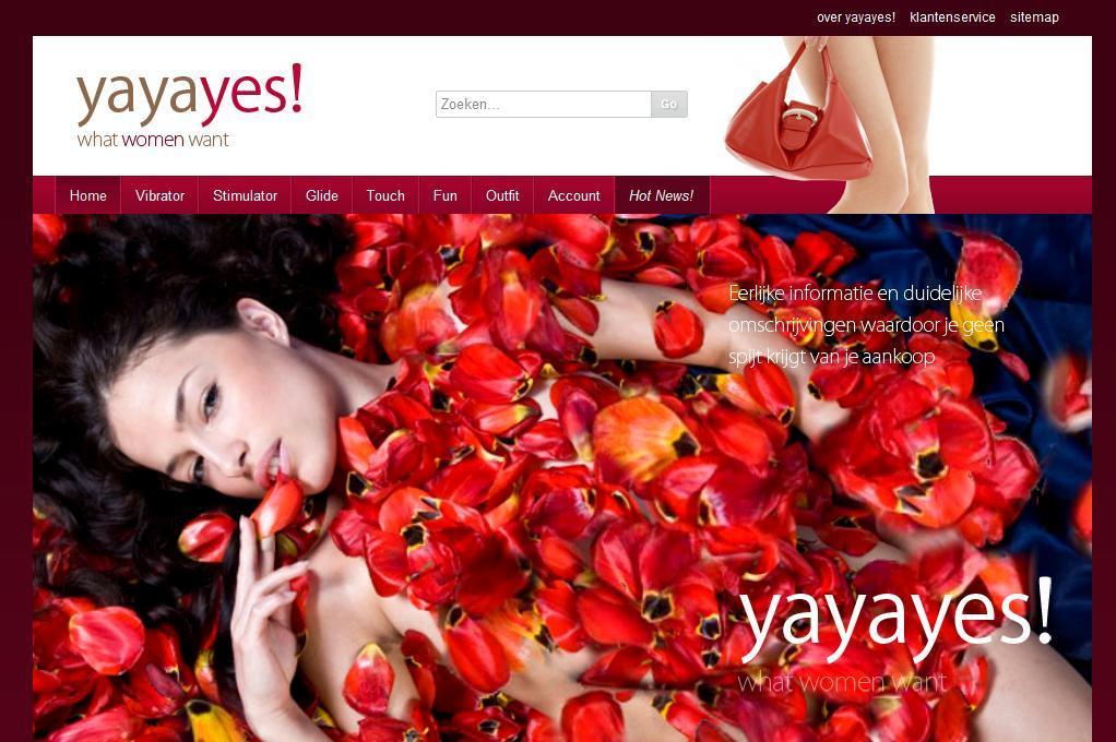 homepage vrouwen webshop