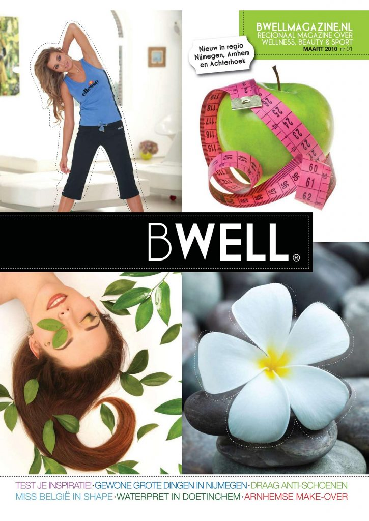 wellness magazine concept