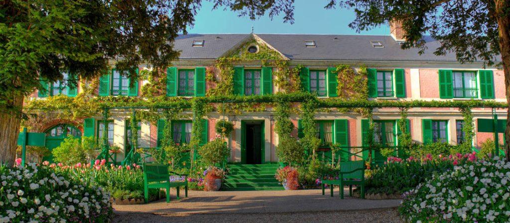 monet huis in frankrijk