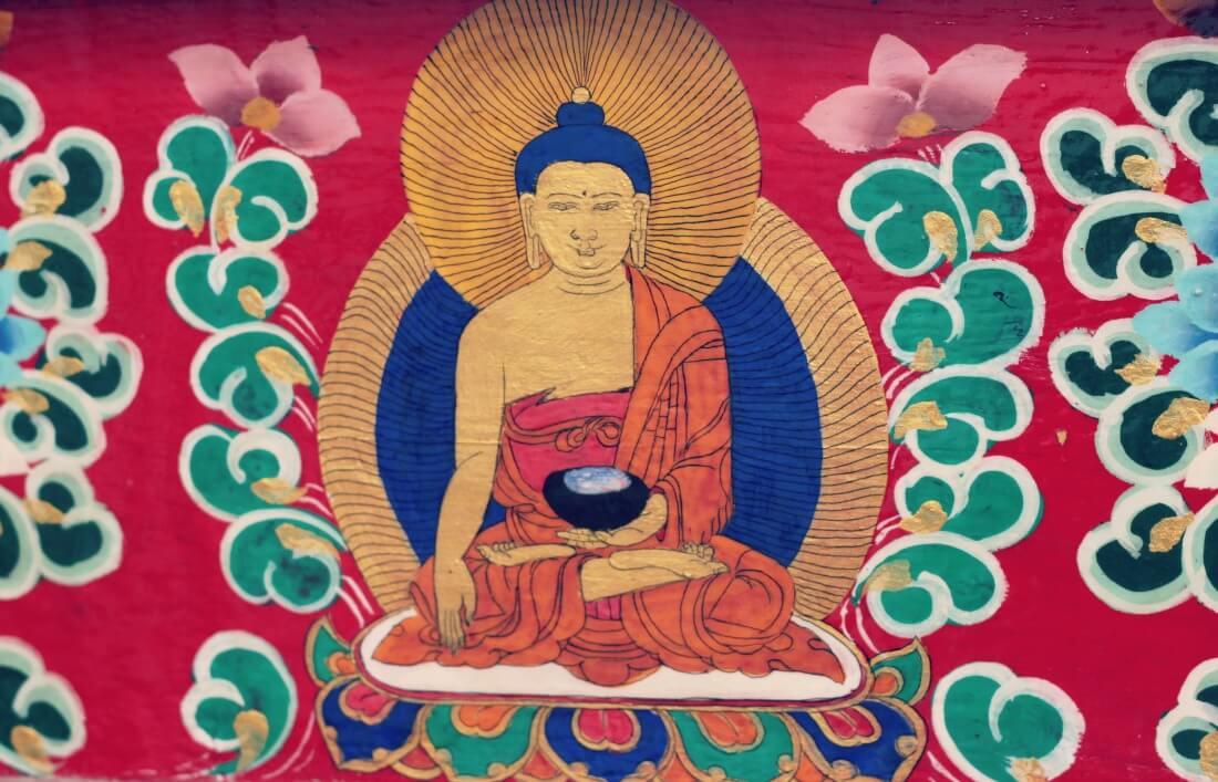 boeddha in Tibet