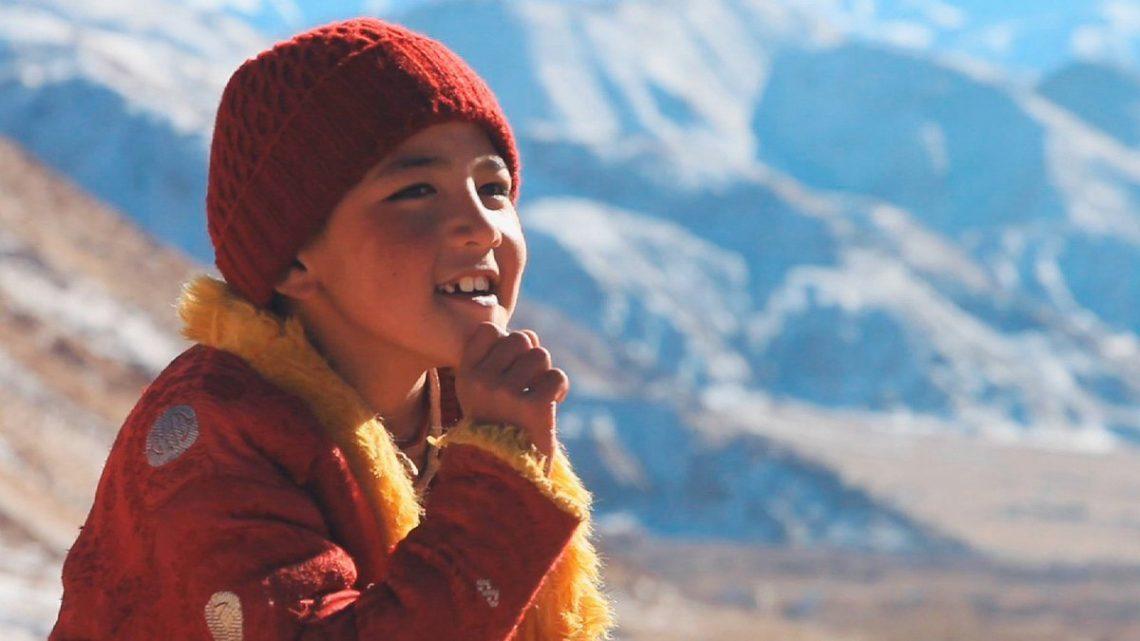 jongen in boeddhistische film