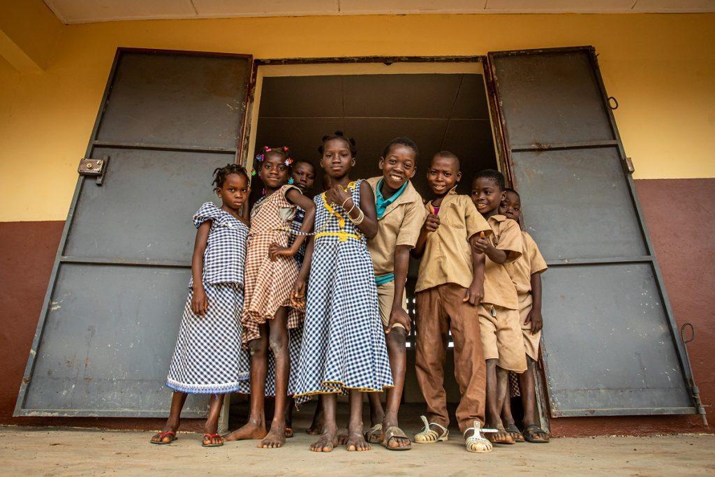 kinderen in de wereld van cacao