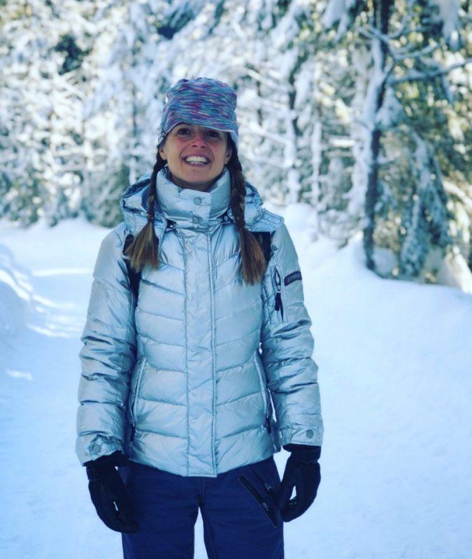 didie in de sneeuw
