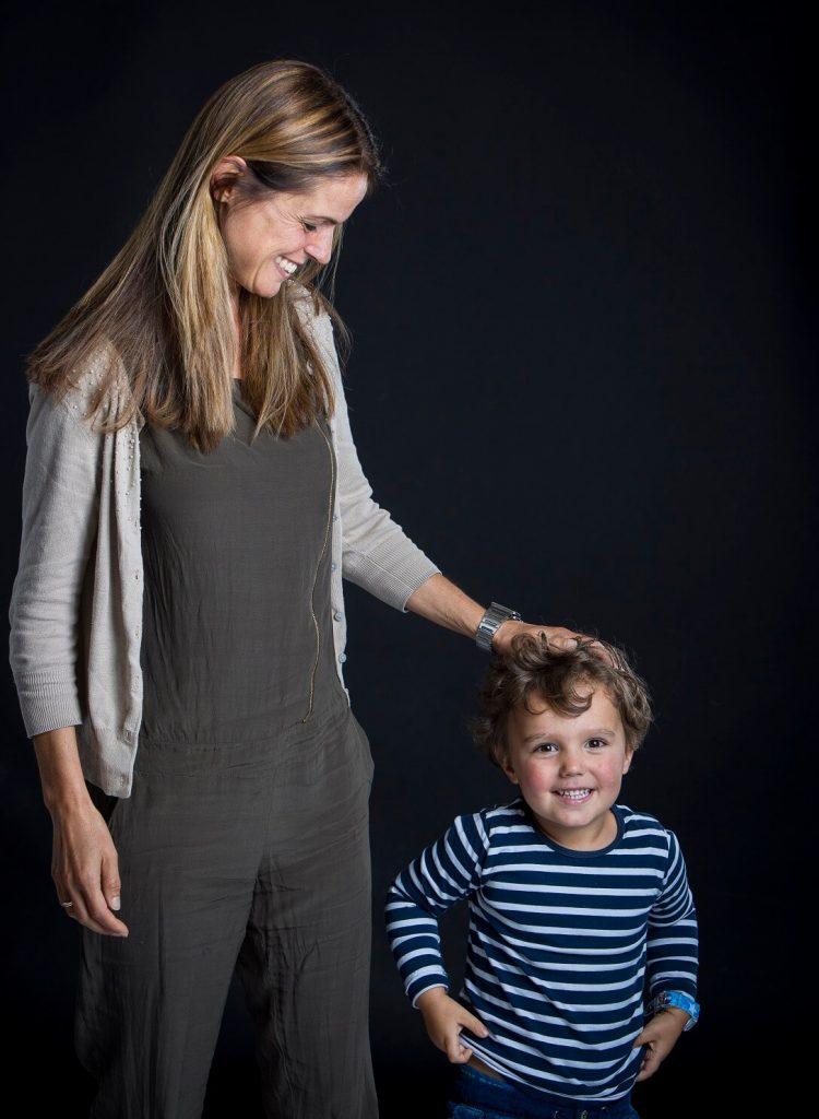 didie en haar zoon