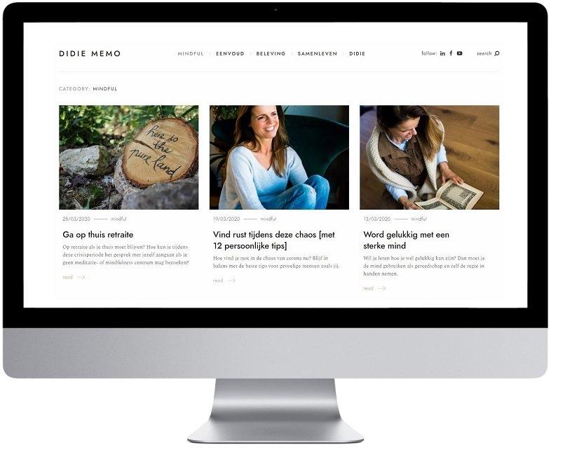 didie website mindful leven