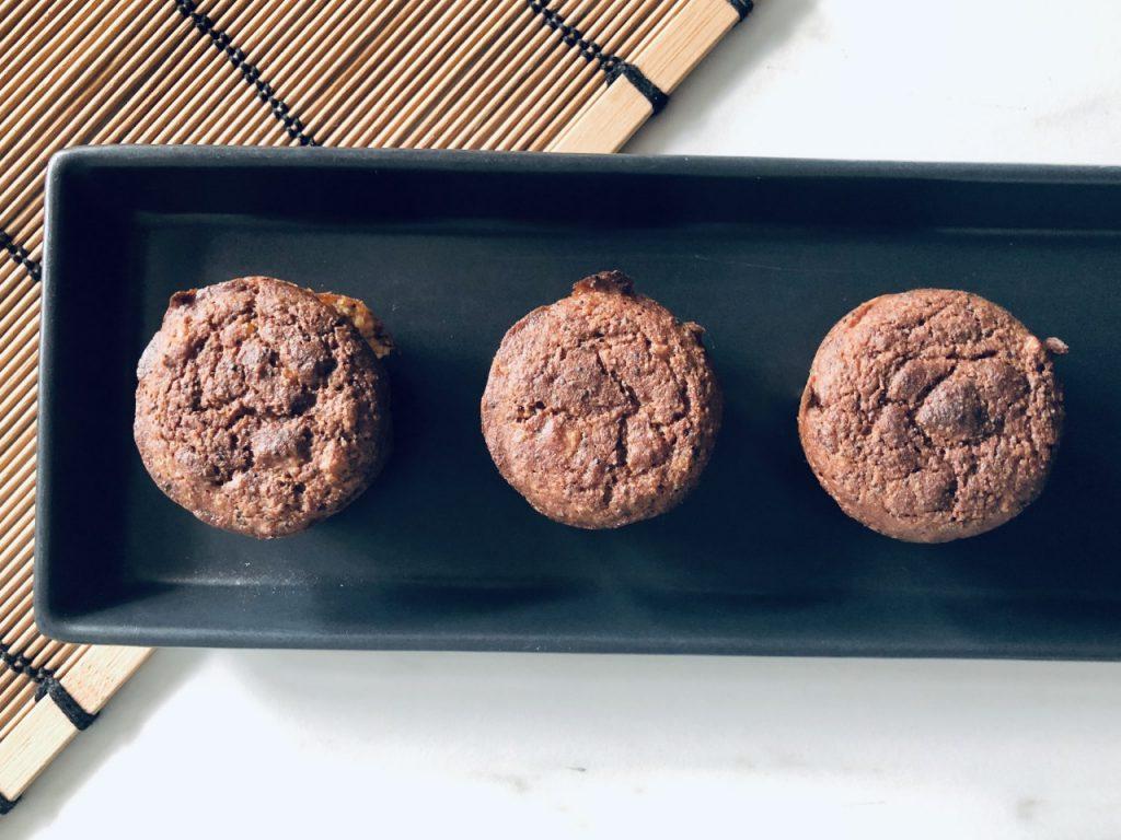 muffins met ahornsiroop en weinig suiker