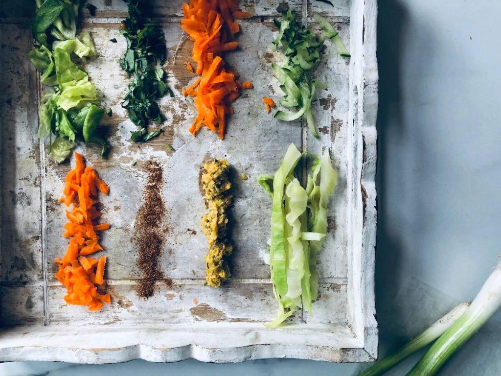 mindful koken met recept voor verse loempia