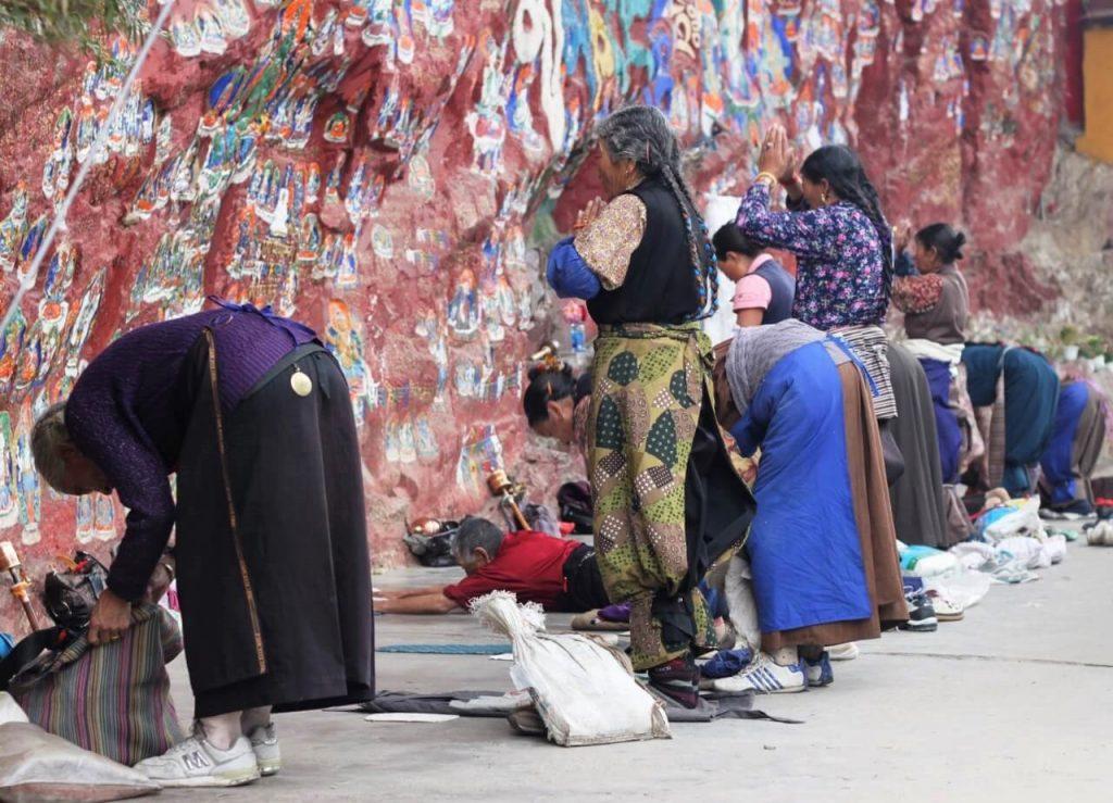 boeddhisme in het dagelijks leven van Tibet