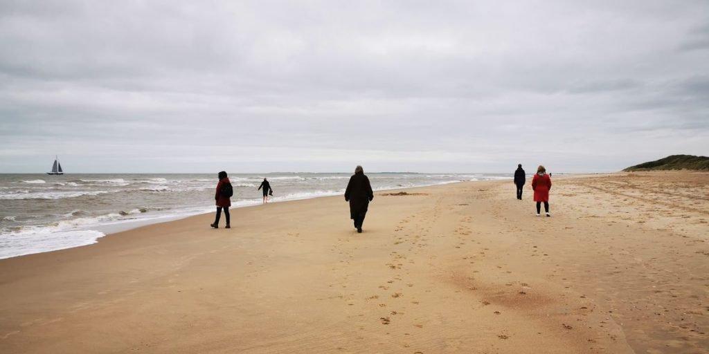 mindfulness aan zee