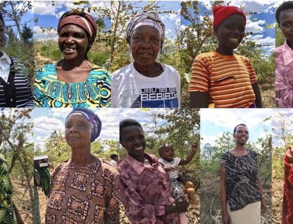 eerlijke koffie van vrouwen uit Rwanda
